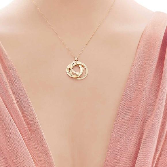486a9fd6c Tiffany & Co. Jewelry | New Tiffany 1837 Interlocking Circles ...